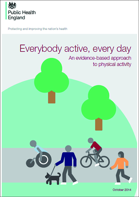 Public Health England Everybody Active Everyday